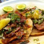 Tacos al Pastor en Trompo casero